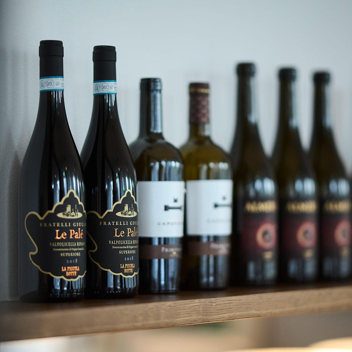 Erlesene Weine in der Olive Lustenau