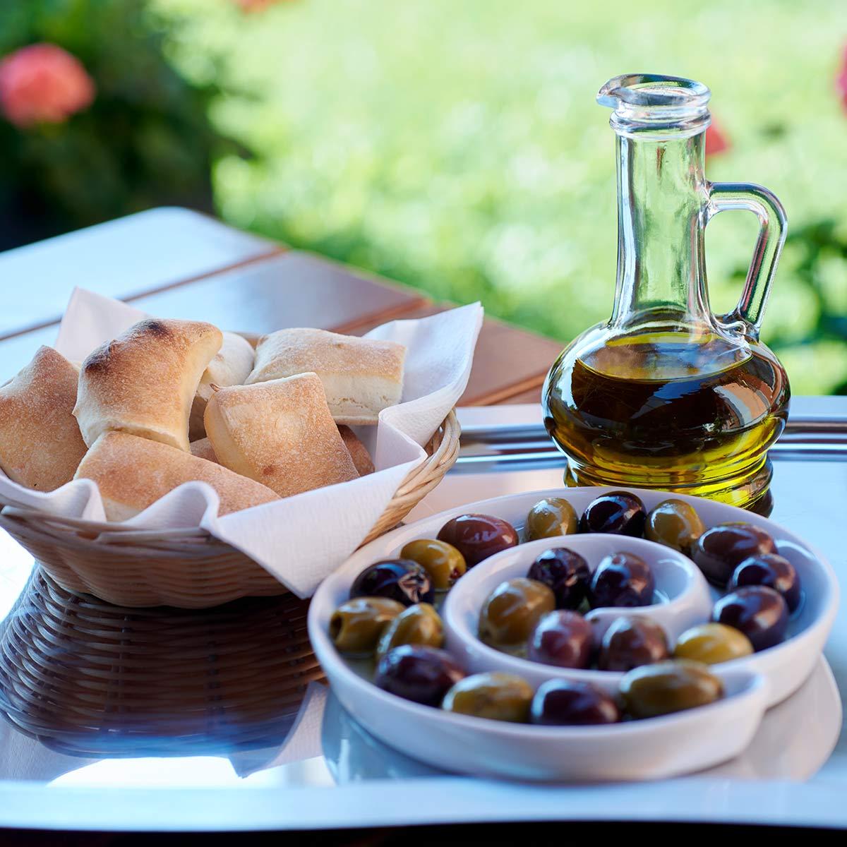 Oliven dürfen nicht fehlen