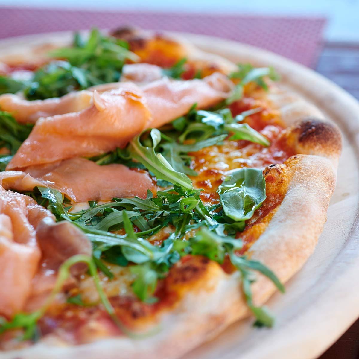 Pizza und Pasta zum mitnehmen