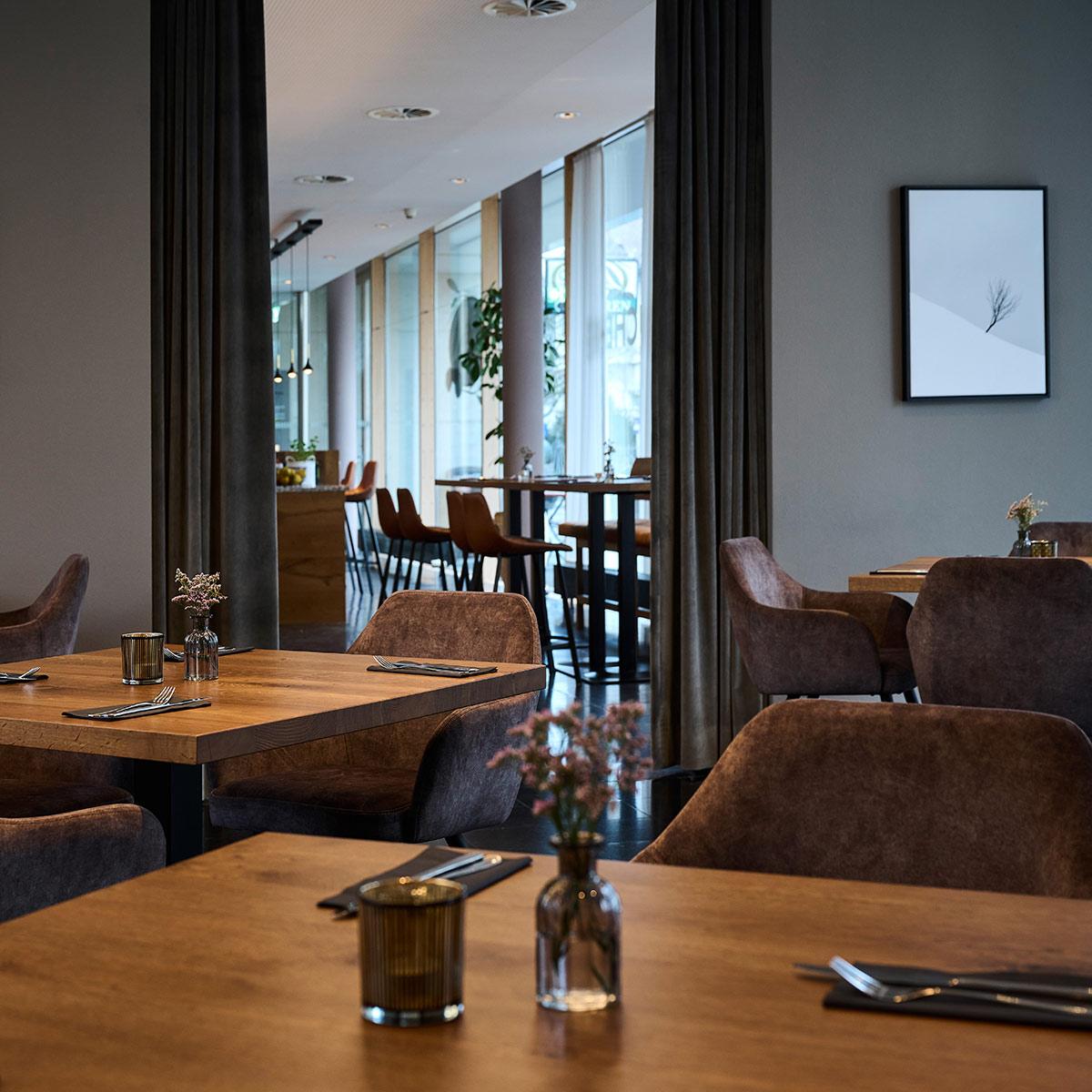 Einblicke ins Restaurant
