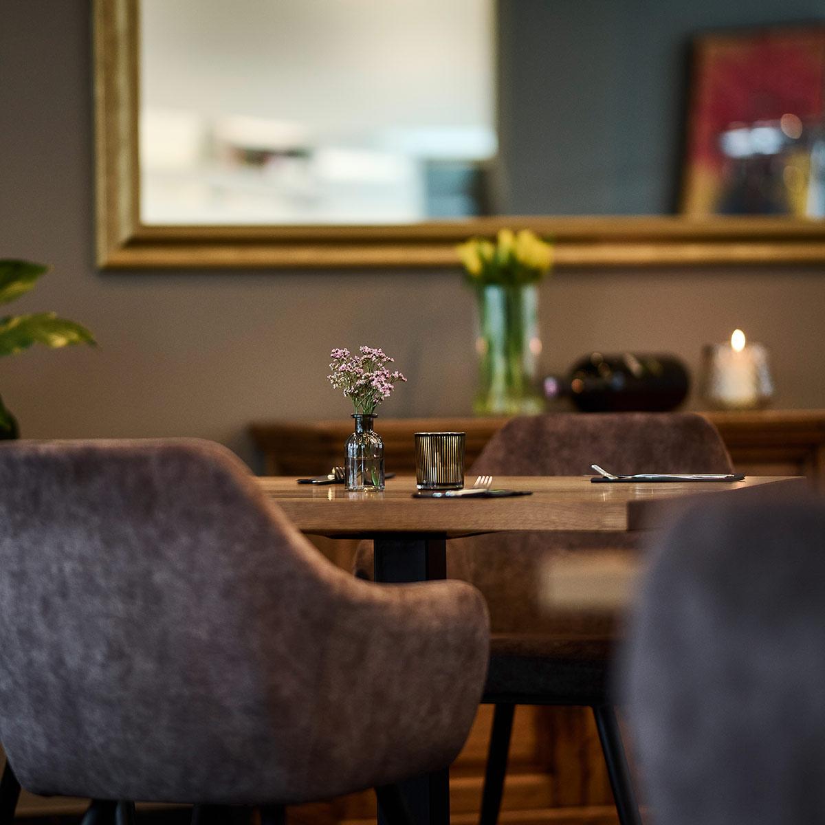 Tisch im Olive in Lustenau